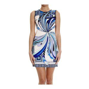 EMILIO PUCCI Silk Dress With Butterfly Print
